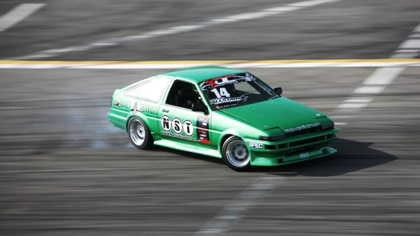 The lighting in this picture of Will Parsons' AE86 is amazing!