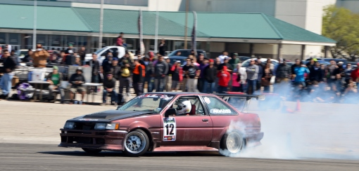 Can't Hate Brad Burnett's V8, It's In A Corolla!