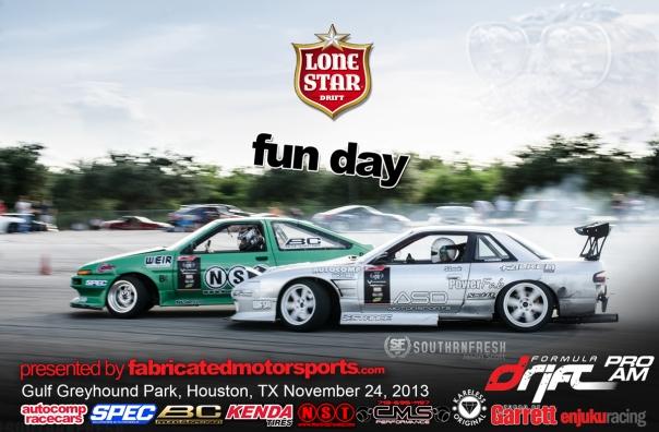 Lone Star Drift Fun Day