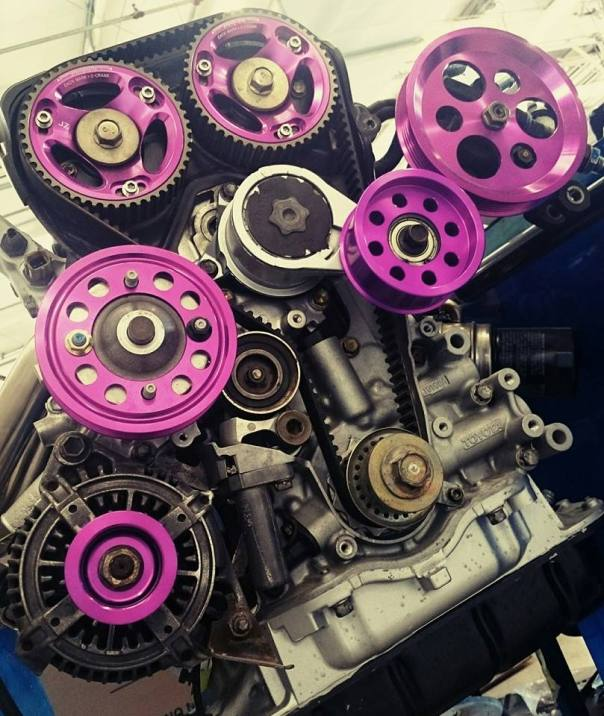 NonStopTuning Toyota JZ Pulleys & Cam Gears