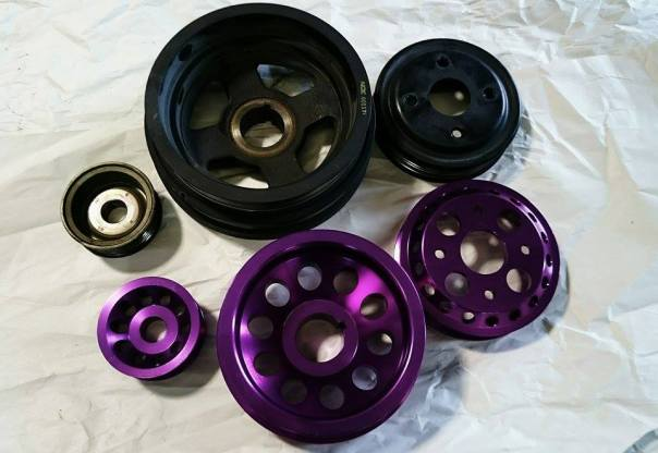 NonStopTuning Underdrive Pulley Kit - NST13515K